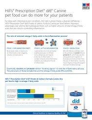 Hill's® Prescription Diet® d/d® Canine pet food can do ... - HillsVet