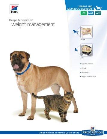 weight management - HillsVet