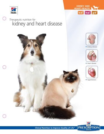 kidney and heart disease - HillsVet