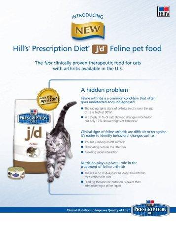Hill's® Prescription Diet® Feline pet food - HillsVet
