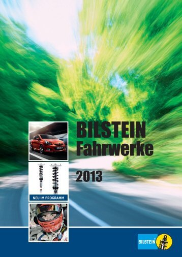 Bilstein Fahrwerk 2013 - Bilsteins