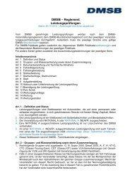 Sportliches Reglement Leistungsprüfung 2014 - DMSB