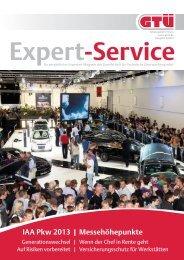 GTÜ Expert-Service 2/2013 (pdf, 3.2 MB)