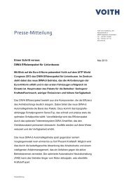 Voith Hydro Holding GmbH & Co
