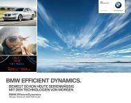 BMW EFFICIENT DYNAMICS. - BMW.com