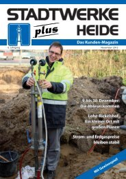 Ausgabe November 2013 - Stadtwerke Heide GmbH