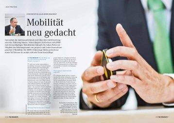 Dr. Julian Weber, BMW - der f&e manager