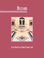 Cost-Effective Hard Floor Care - Hillyard Inc.