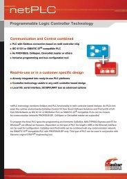 netPLC communication & control