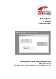 SYCON.net - Hilscher