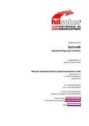 SyConIB - Hilscher