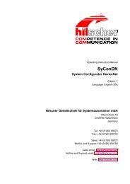 System Configurator DeviceNet - Hilscher