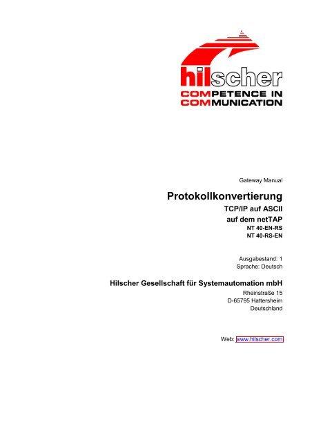 Protokollkonvertierung - Hilscher.fr