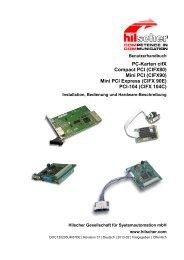 PC-Karten cifX Compact PCI (CIFX80)