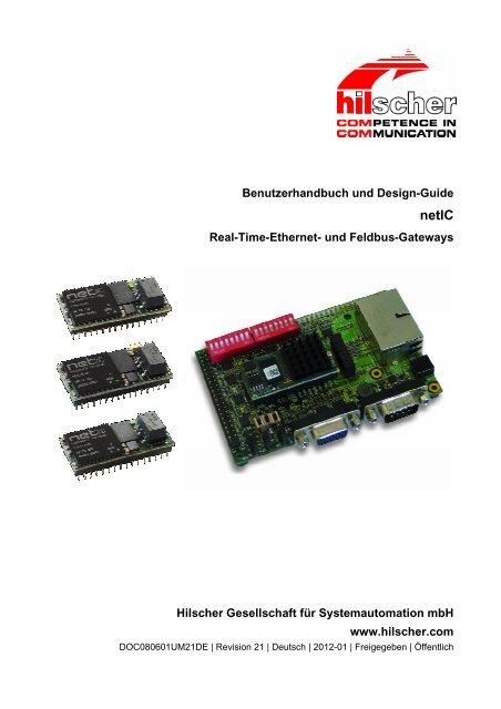 netIC Benutzerhandbuch und Design Guide - Hilscher
