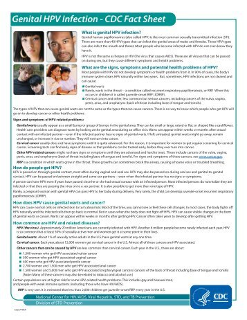 HPV Fact Sheet