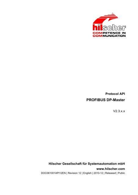 PROFIBUS DP-Master
