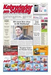 hildesheim - Kehrwieder am Sonntag