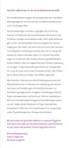 GestaltAkademie 2013/14 - IGW Institut für integrative ... - Page 3
