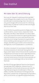 GestaltAkademie 2013/14 - IGW Institut für integrative ... - Page 6