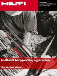 Tervezői brosúra letöltése - Hilti