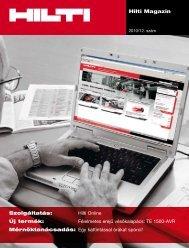Hilti Magazin 2010/ 12. szám