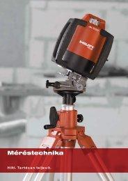 Méréstechnika - Hilti