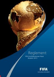 Reglement - FIFA.com