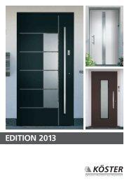 Türen Edition 2013 - Exclusive Haustüren aus ... - Frasch Fenster