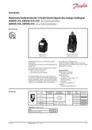 AMV(E) - Danfoss