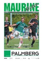 FC Schönberg 95 – Torgelower SV Greif