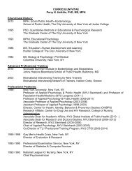 Perry N - NYU Steinhardt - New York University