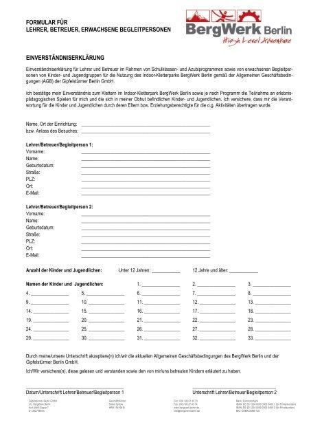 Formular Für Lehrer Bet