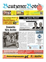 02.November 2013 - BautzenerBote.de