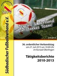 Südbadischer Fußballverband e.V. - SBFV