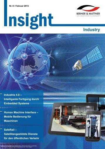 6. Newsletter 'Insight Industry' (pdf 3,4 MB) - Berner & Mattner