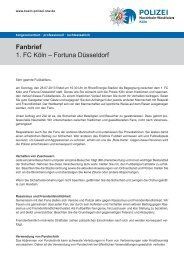 Dateiname: fanbrief.pdf - Presseportal