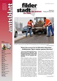 Amtsblatt KW 4.pdf - Stadt Filderstadt