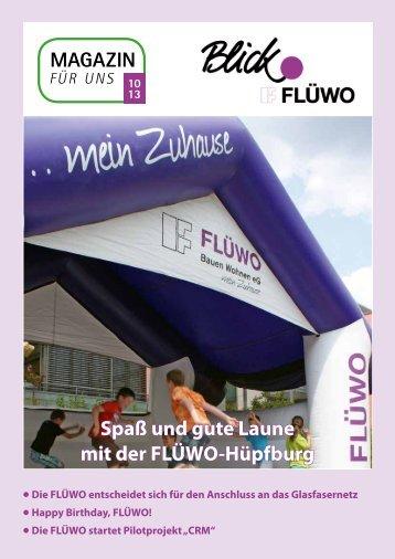 Spaß und gute Laune mit der FLÜWO-Hüpfburg - Wohnungen ...