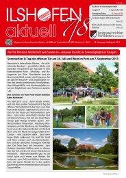Ausgabe 7/8/2013 - Gewerbeverein Ilshofen eV / Startseite