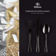 Celebrate the festive season - Hilton Hotels