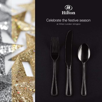Celebrate the festive season - Hilton Hotels