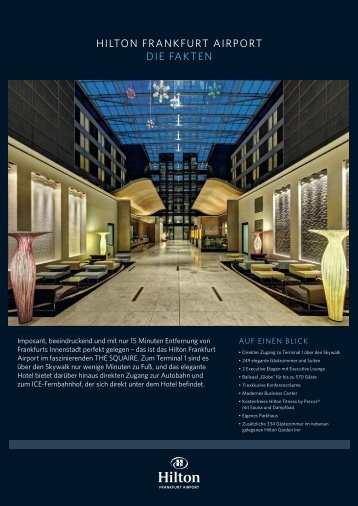 Fact Sheet - Hilton Hotels