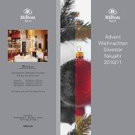 Advent Weihnachten Silvester Neujahr 2010/11