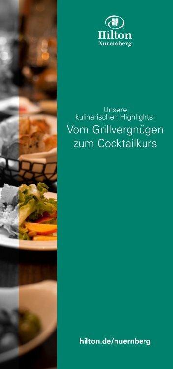 Kulinarischer Flyer