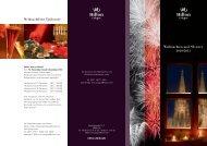 Weihnachten und Silvester - Hilton
