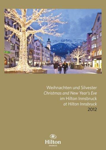Hilton Innsbruck Christmas 2012 - Hilton Austria