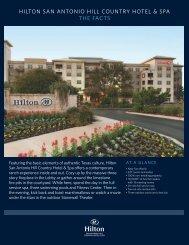 Floor Plans - Hilton San Antonio Hill Country Hotel & Spa