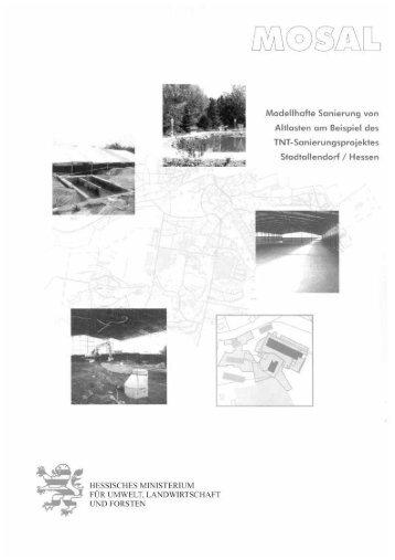 Teil 1, Inhalt + Einleitung - Rüstungsaltstandort Stadtallendorf