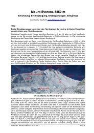 1982 - Die Berge des Himalaya